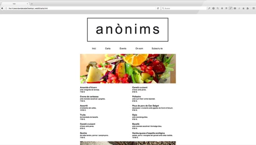 Disseny web :: restaurant anònims 2