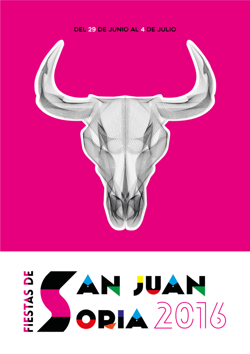 Cartel Fiestas San Juan Soria 2016 1