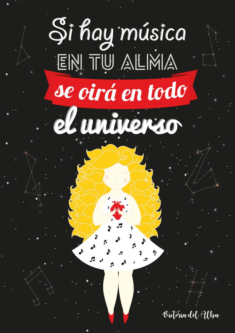 Ilustración Música y universo 1