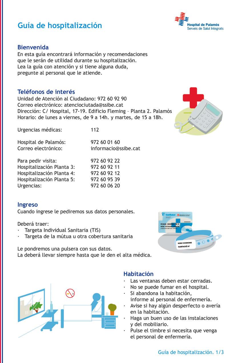 Ilustraciones para guía hospitalaria 0