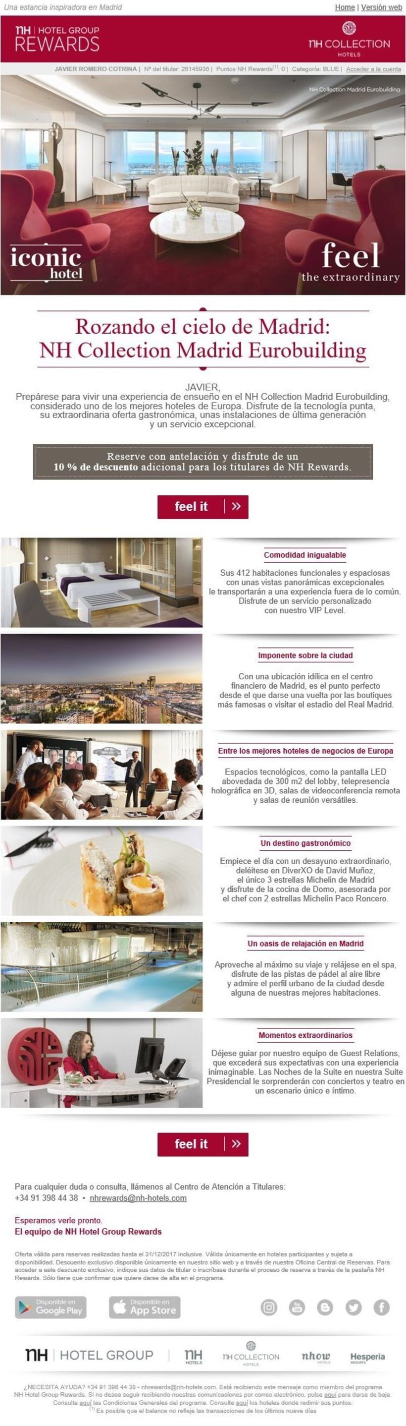 Nh-Hotel-Group (Diseño y Programación de Newsletters) 1