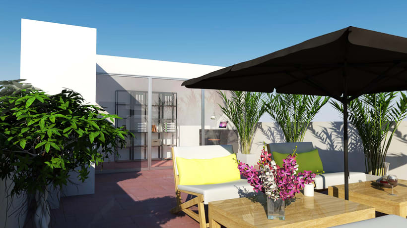 Proyecto de reforma de una casa en barcelona domestika for Reforma de una casa