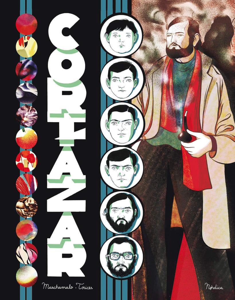 La vida y obra de Cortázar en formato cómic 1