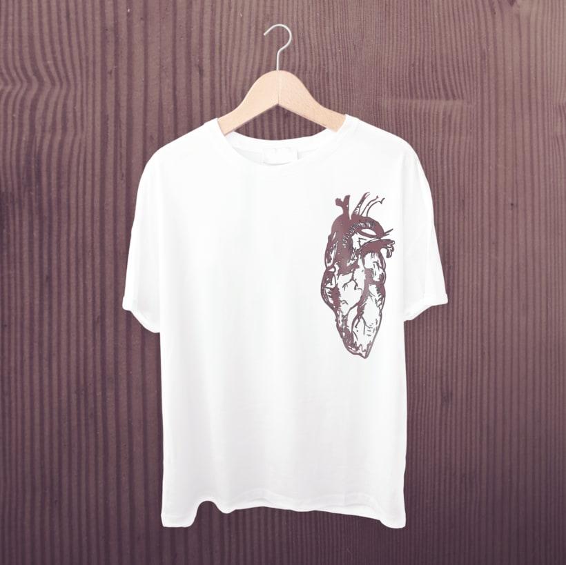 Camiseta corazón -1