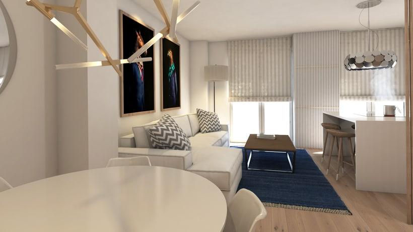 Apartamento de alquiler turístico en Madrid centro. 1