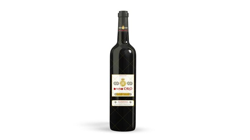 Branding + Packaging Botella Vino 1
