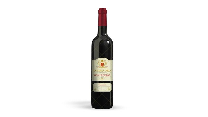 Branding + Packaging Botella Vino 2