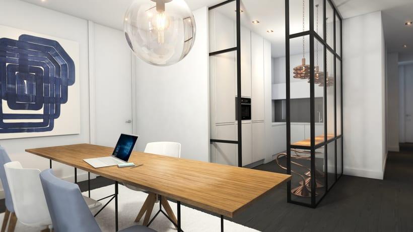 Diseño de vivienda para alquiler vacacional en Madrid Centro. 1
