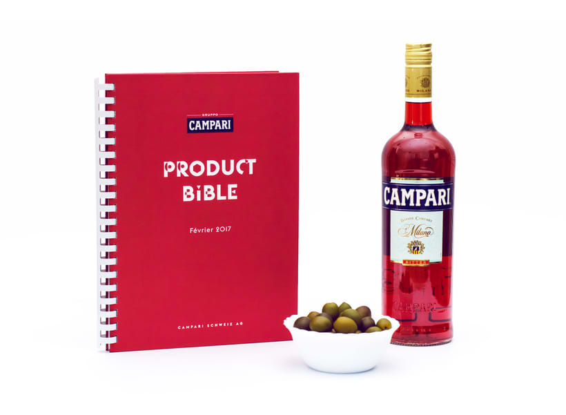 Product Bible for Campari Switzerland 0