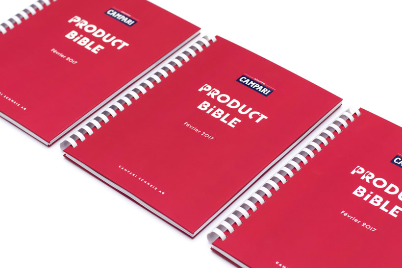Product Bible for Campari Switzerland 2