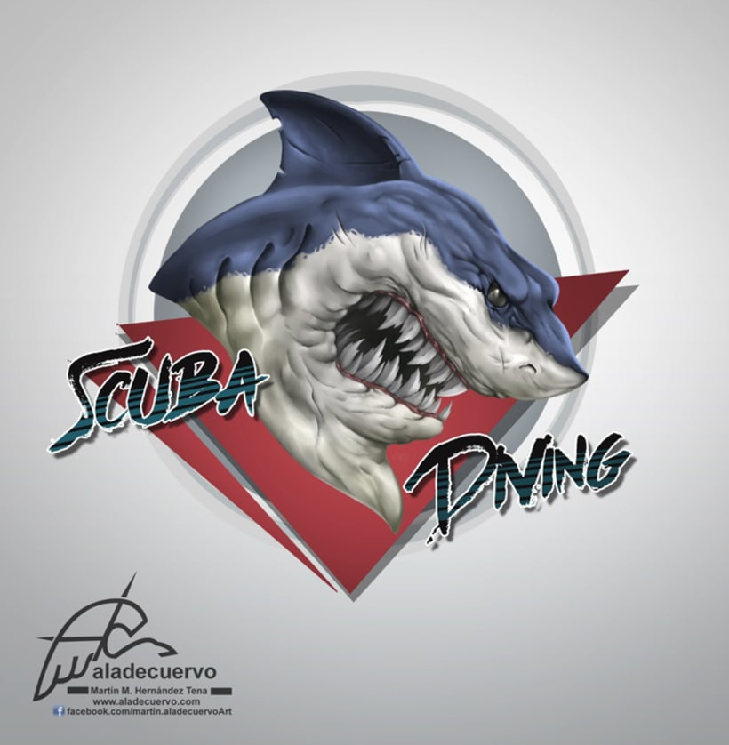 Mad Shark - Scuba Diving -1