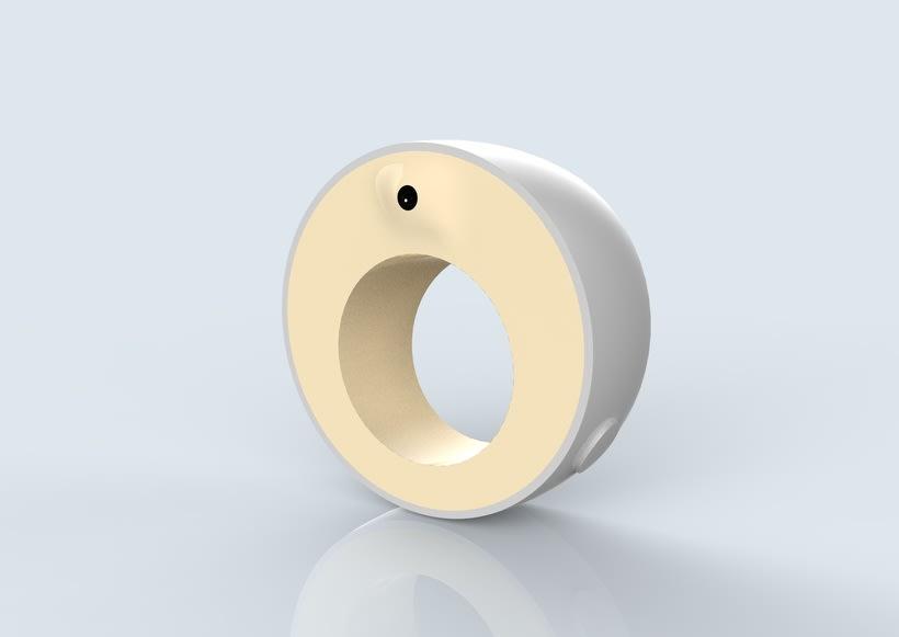 Fingerreader, modelo HUGIN- diseño carcasa de wearable del MIT para la interpretación de textos no adaptados para invidentes 1