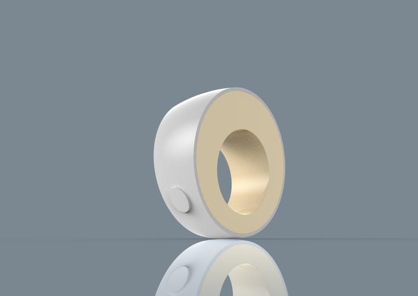 Fingerreader, modelo HUGIN- diseño carcasa de wearable del MIT para la interpretación de textos no adaptados para invidentes 2