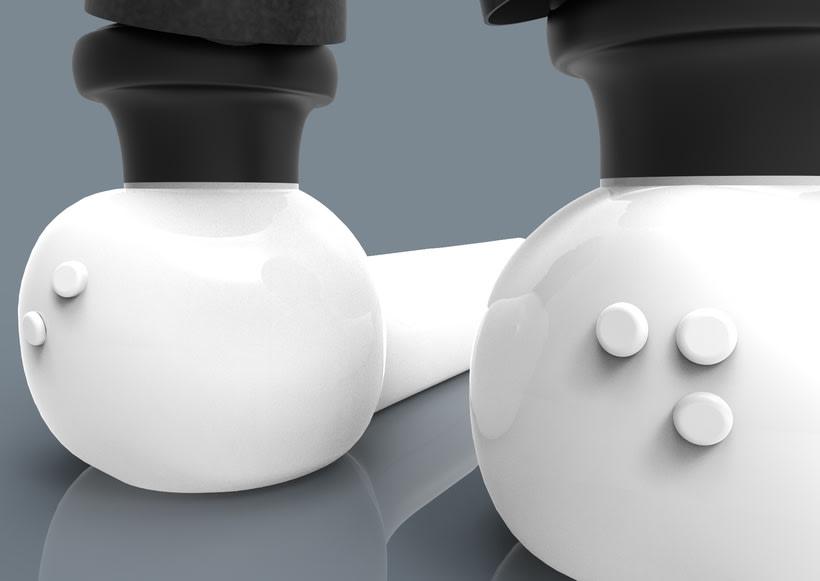 Fingerreader, modelo HUGIN- diseño carcasa de wearable del MIT para la interpretación de textos no adaptados para invidentes 5