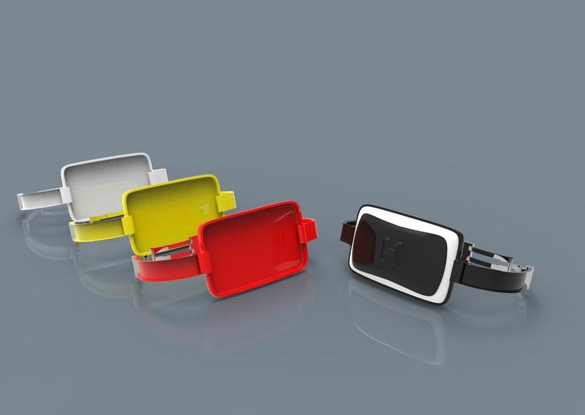 Fingerreader, modelo HUGIN- diseño carcasa de wearable del MIT para la interpretación de textos no adaptados para invidentes 8