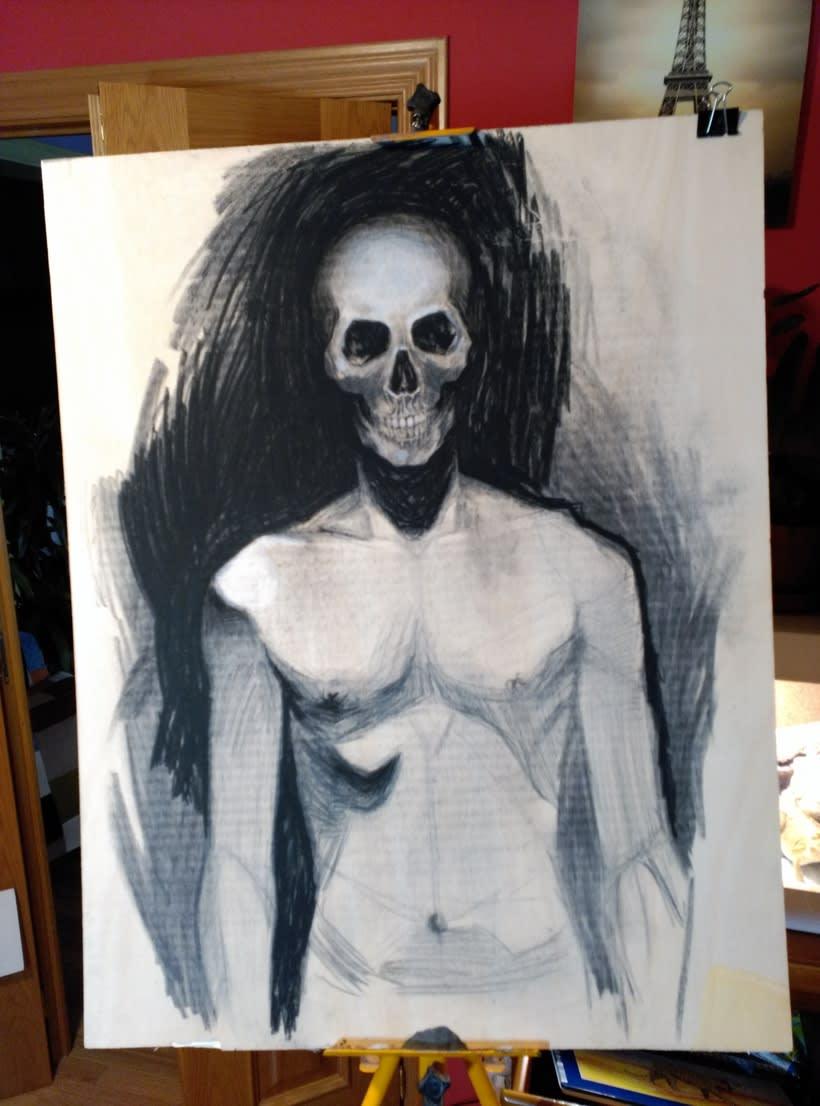 Pinturas y dibujos a mano. 10