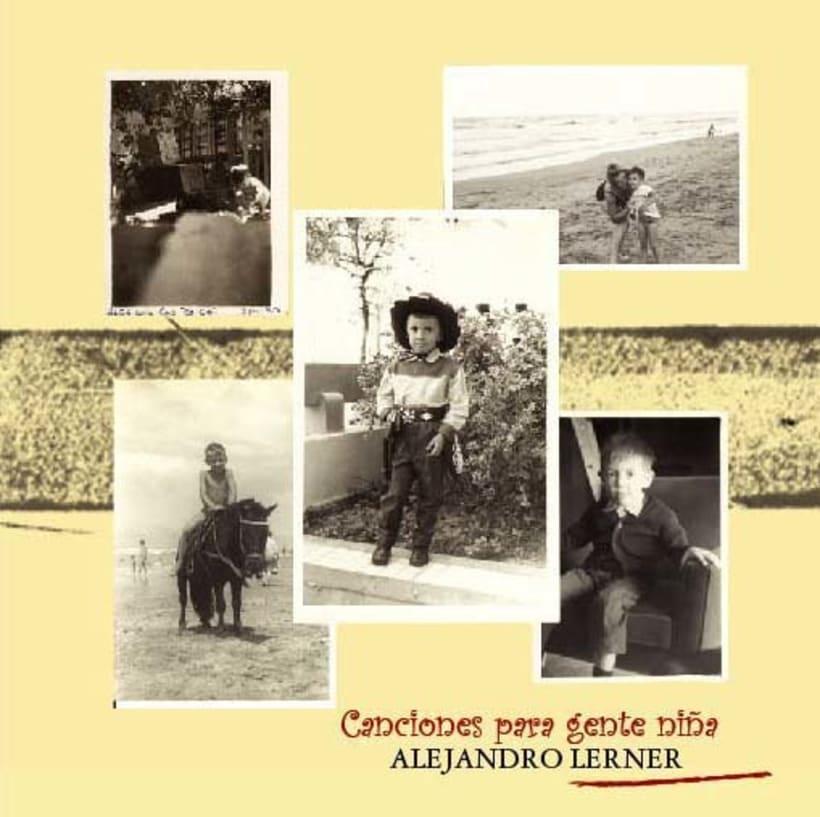 Arte CD Canciones para Gente Niña -1