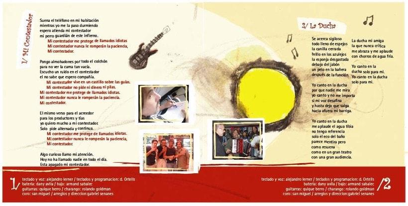 Arte CD Canciones para Gente Niña 0
