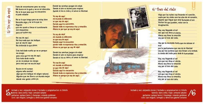 Arte CD Canciones para Gente Niña 2