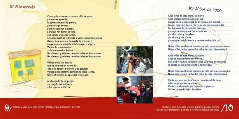Arte CD Canciones para Gente Niña 3