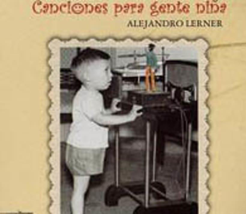 Arte CD Canciones para Gente Niña 5