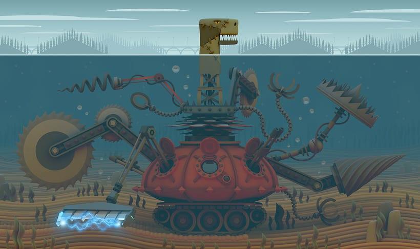 El Monstruo del Lago 1