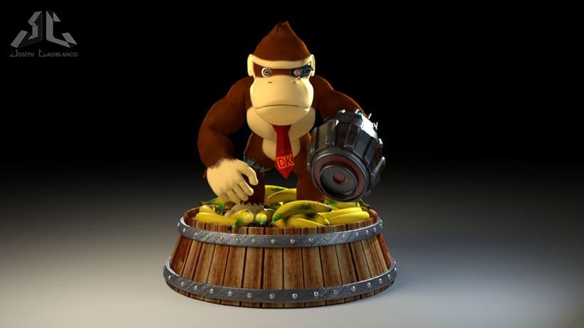 Donkey Kong Cyborg -1