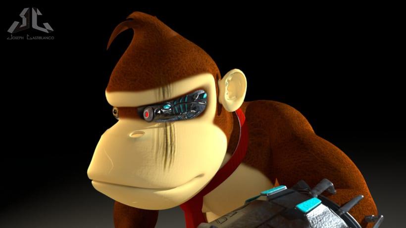 Donkey Kong Cyborg 0