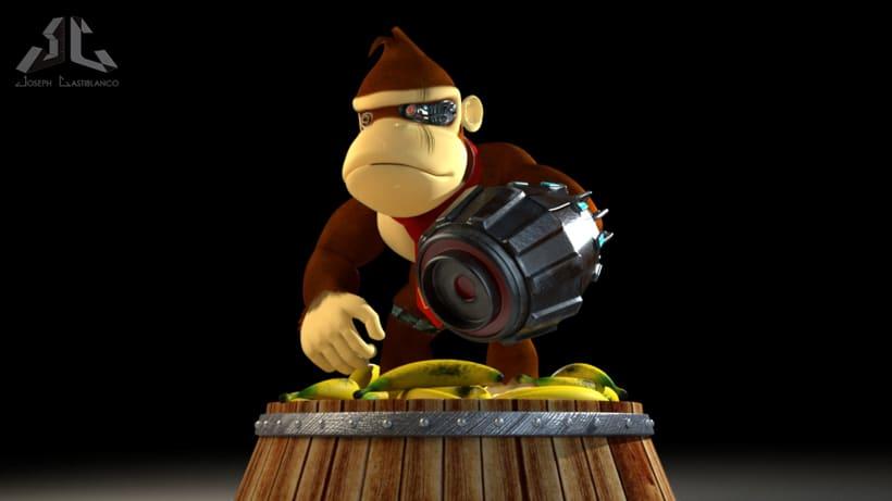 Donkey Kong Cyborg 1