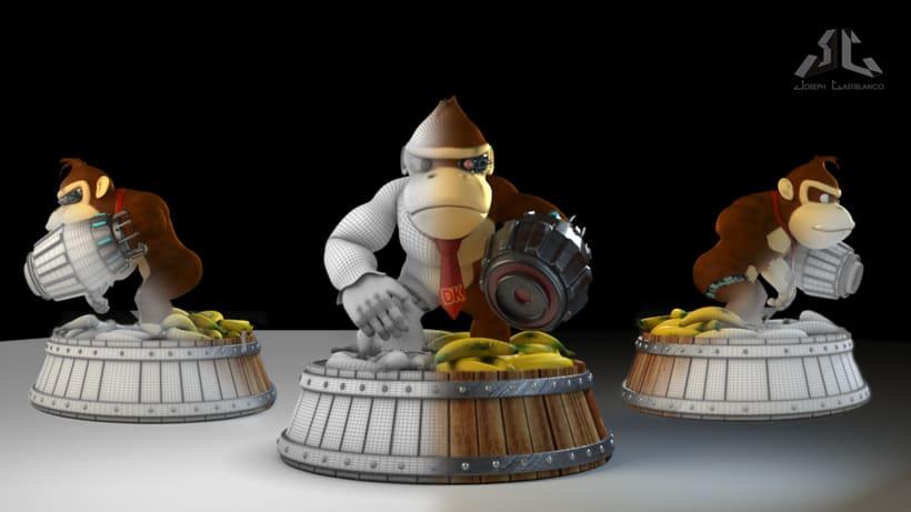 Donkey Kong Cyborg 3