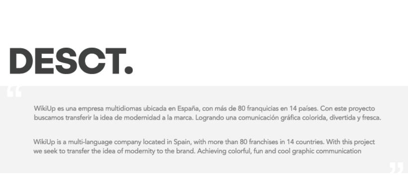WikiUp - Corporate Branding  1