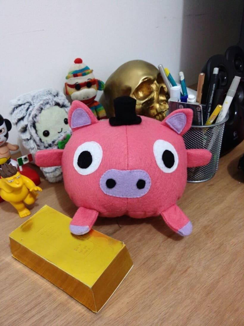 Mi Proyecto del curso: Textile Toys: diseño y creación de personajes en tela 0