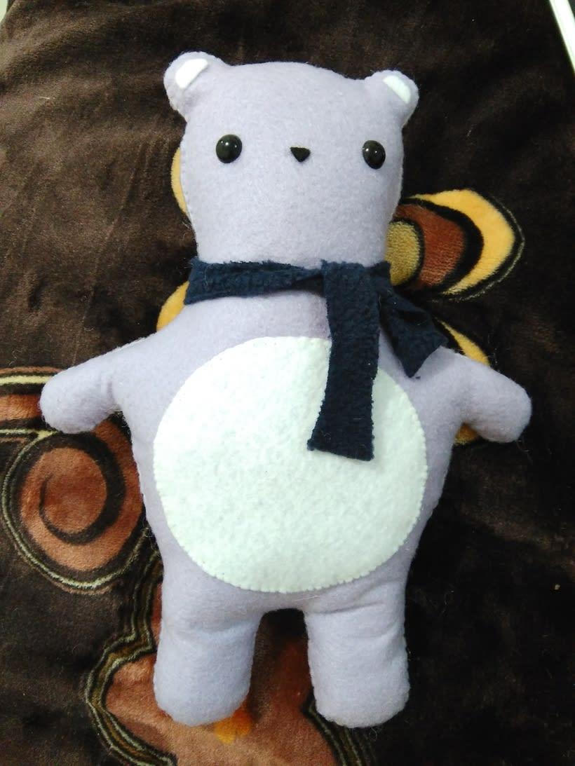 Mi Proyecto del curso: Textile Toys: diseño y creación de personajes en tela 1