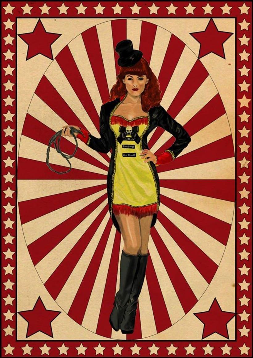 Pin Up circus 2