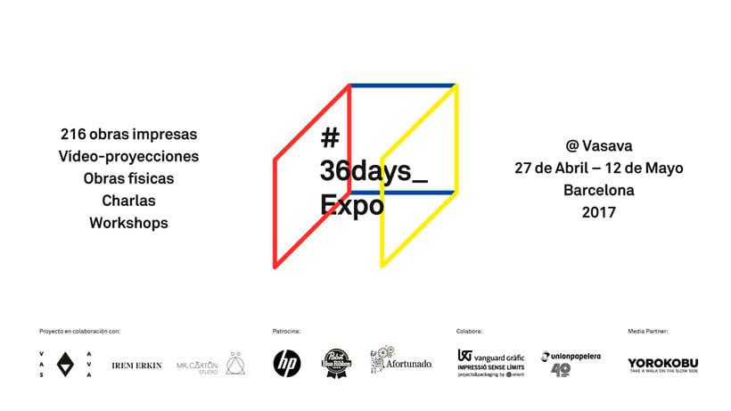 36 Days of Type: la exposición 3