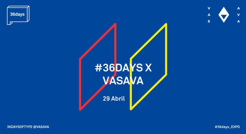 36 Days of Type: la exposición 6