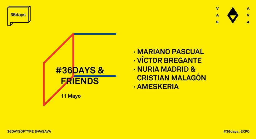 36 Days of Type: la exposición 7