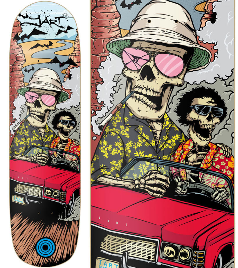 Jart Skateboards - Colección 2017 2