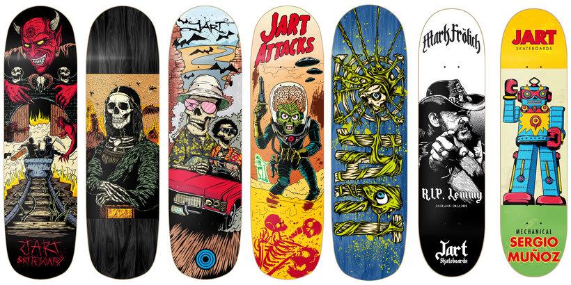 Jart Skateboards - Colección 2017 0