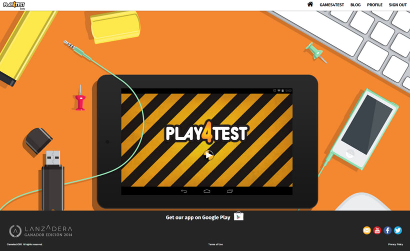 Play4Test - Web Page 2