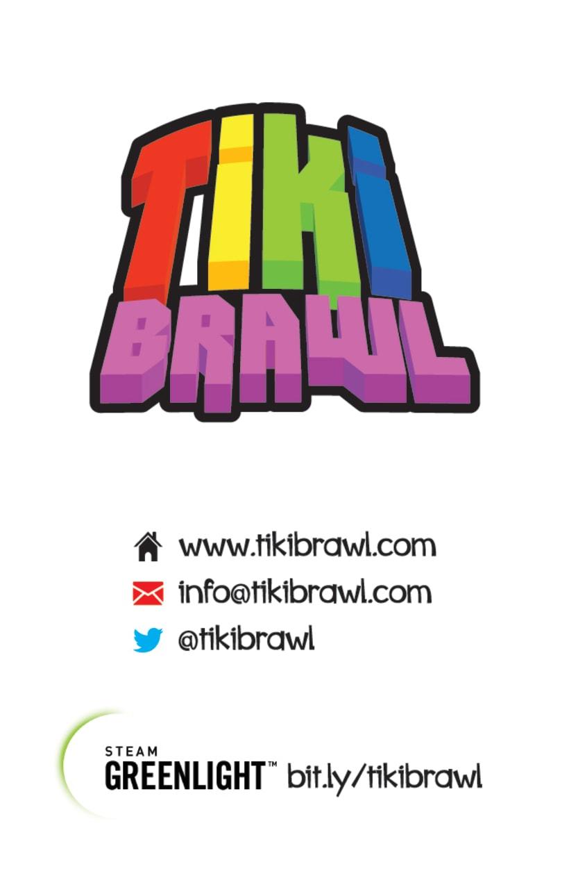 Tiki Brawl - Branding & Music 13