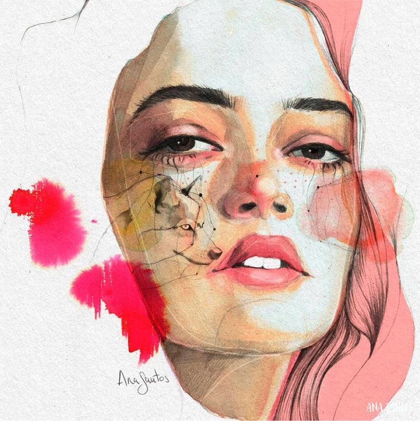 Ana Santos ilustra la feminidad en estado puro 5