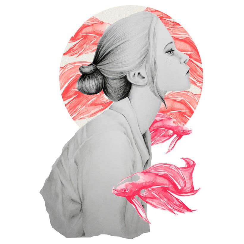 Ana Santos ilustra la feminidad en estado puro 9