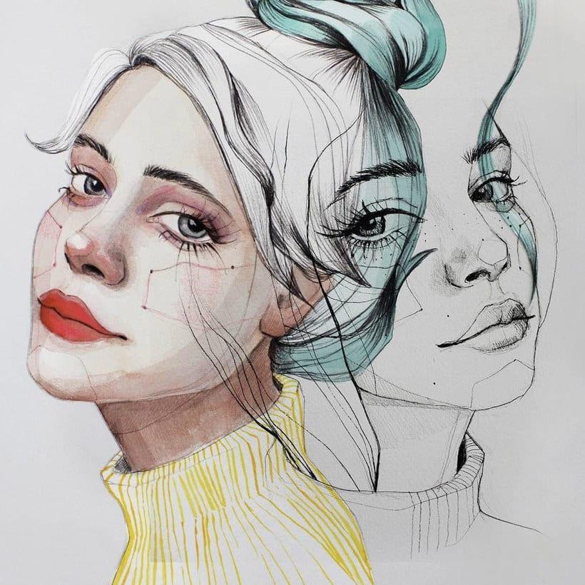 Ana Santos ilustra la feminidad en estado puro 12