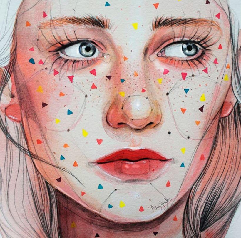 Ana Santos ilustra la feminidad en estado puro 13