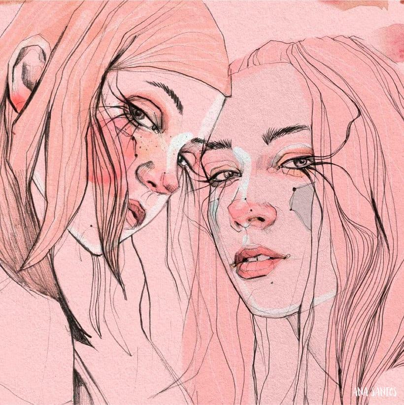 Ana Santos ilustra la feminidad en estado puro 14