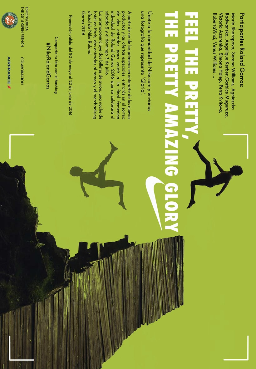 """Advertising campaing NIKE : """"Feel the pretty amazing glory"""" -1"""