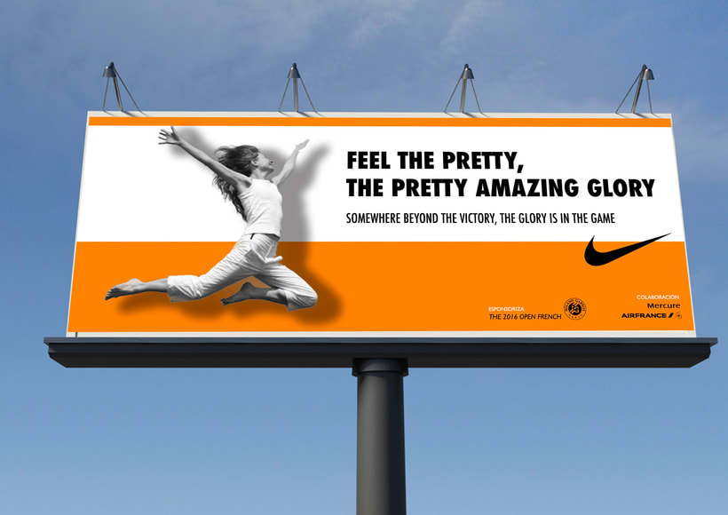 """Advertising campaing NIKE : """"Feel the pretty amazing glory"""" 2"""