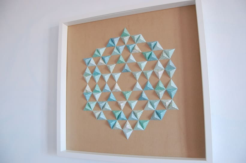 Antares: arte 3D en papel 1