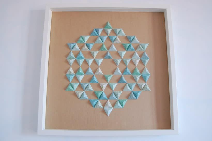 Antares: arte 3D en papel 2
